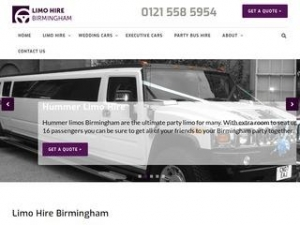 Limo Hire Birmingham