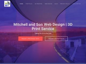Mitchell and Son Web Design