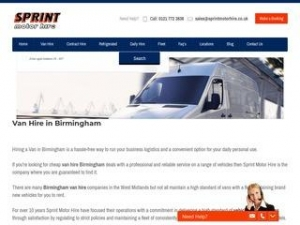Sprint Motor Hire Ltd